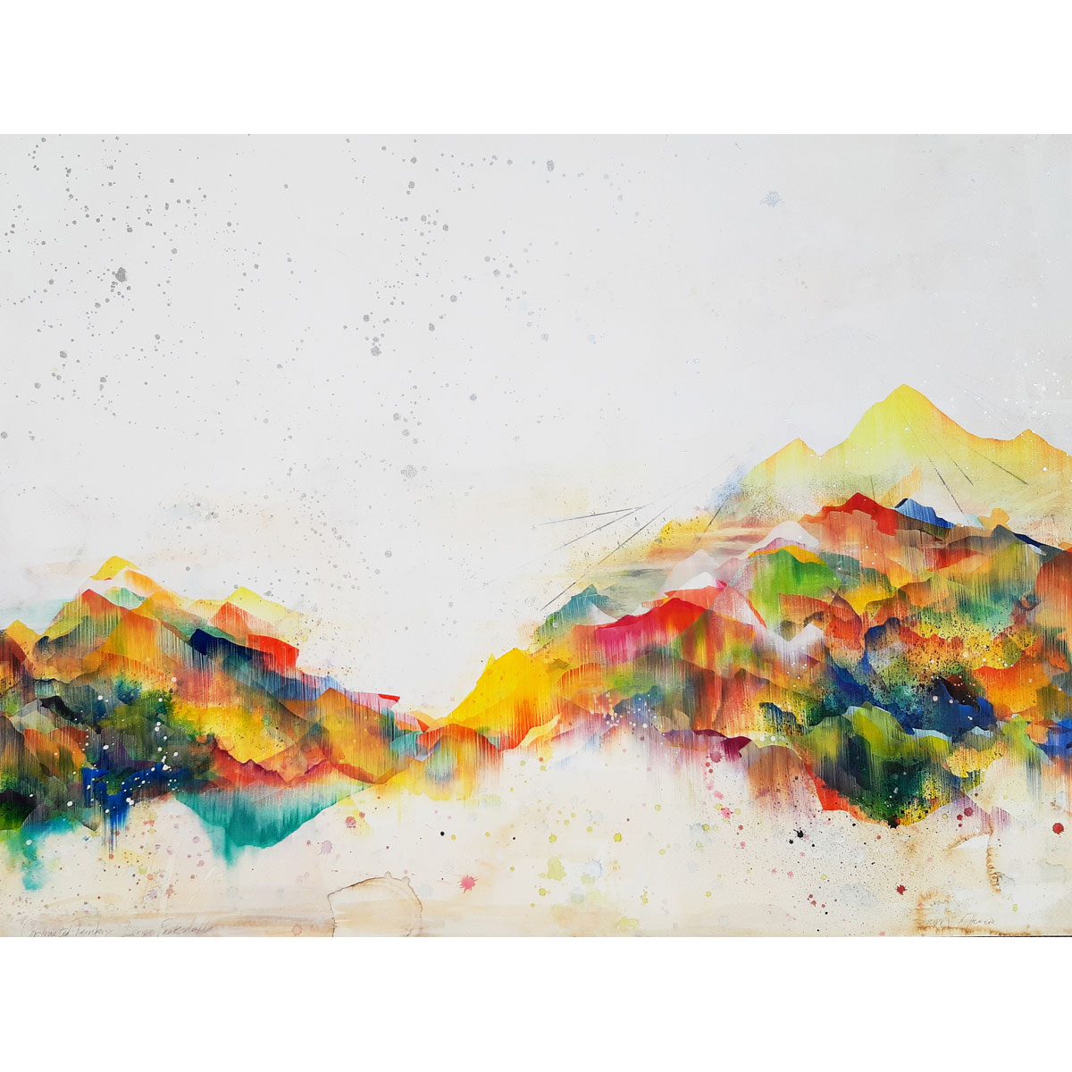 Longs Peak by Fawn Atencio