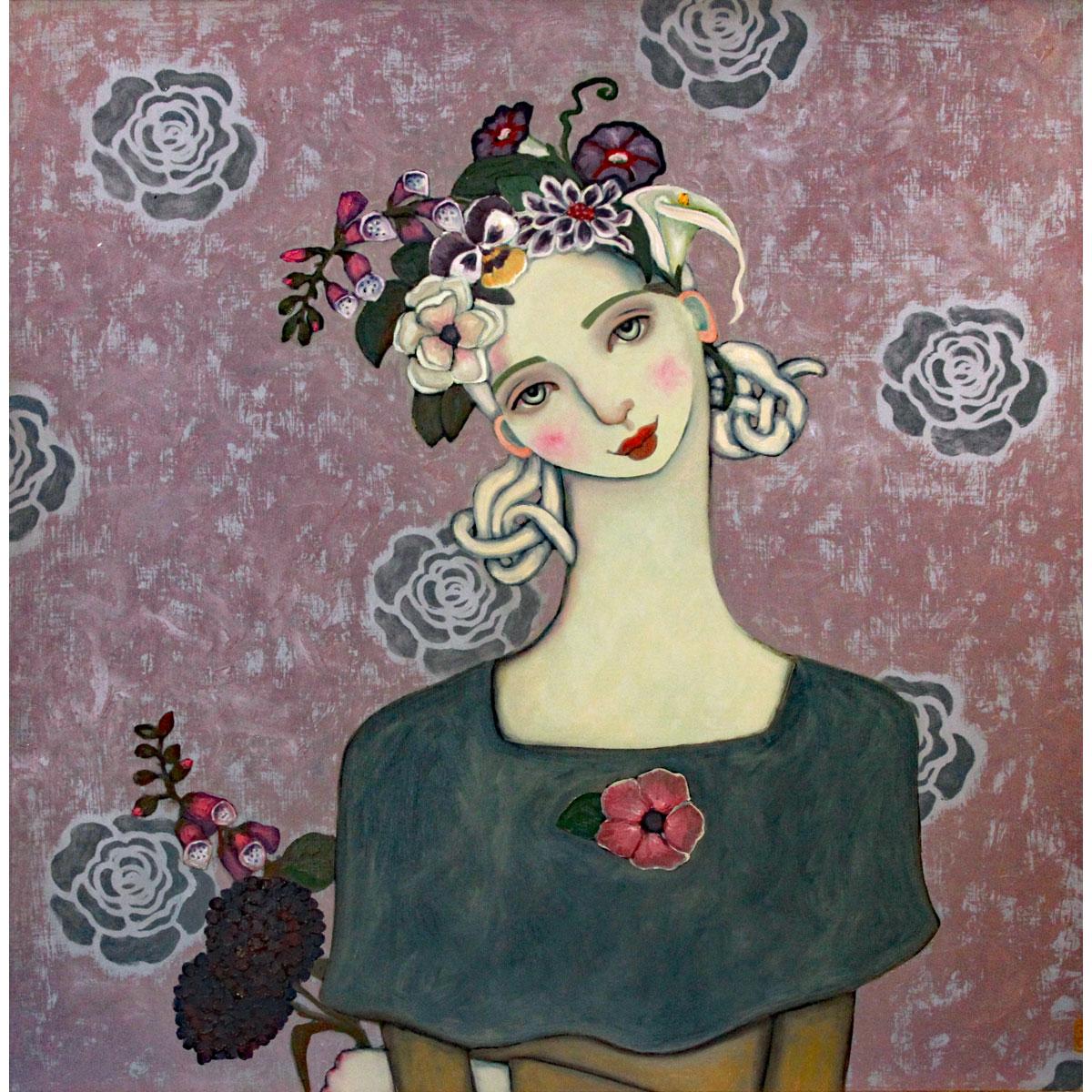 Pale Flower by Heather Barron
