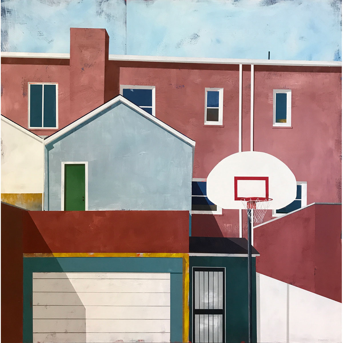 Alley Ball 1 by Justin Wheatley
