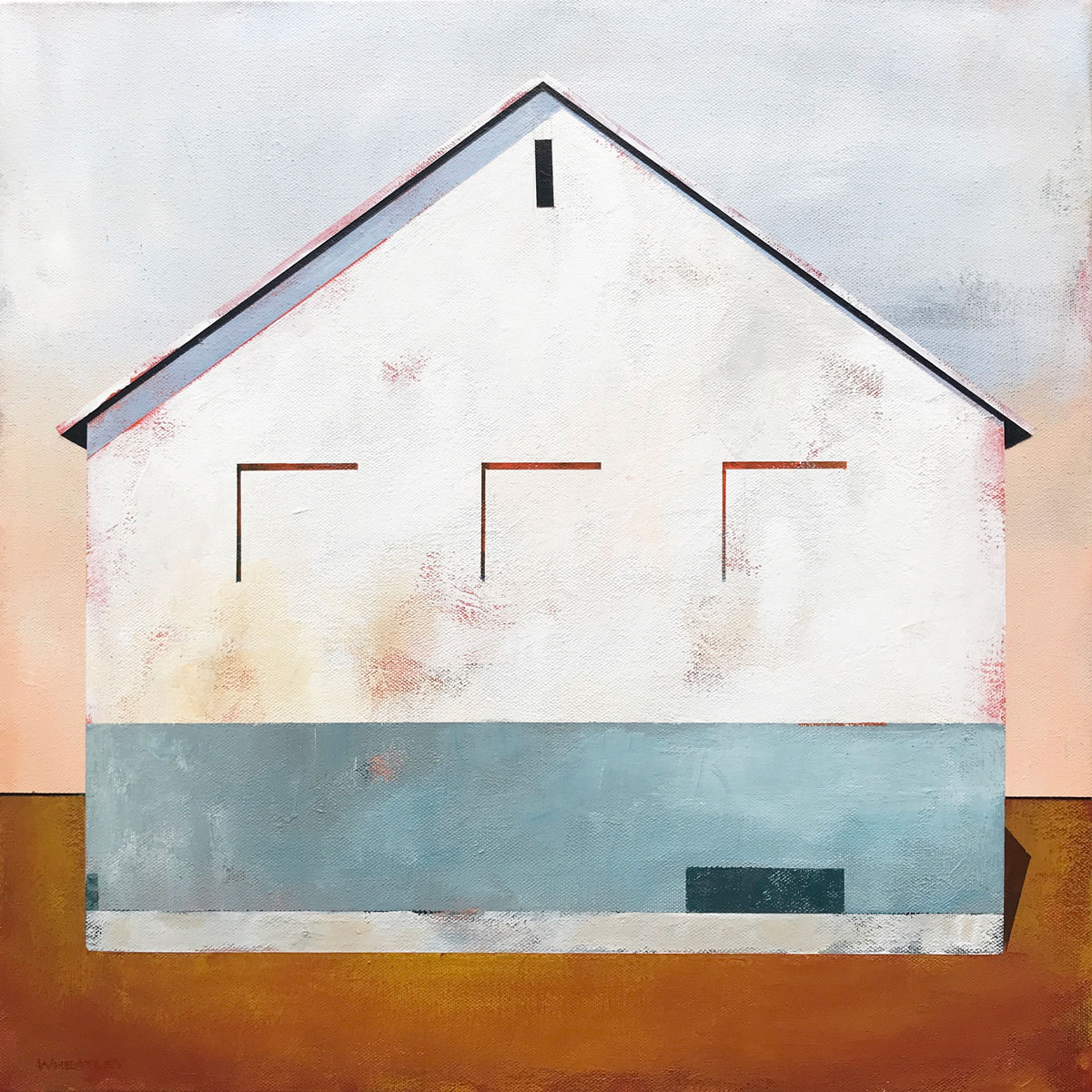White Barn 2 by Justin Wheatley