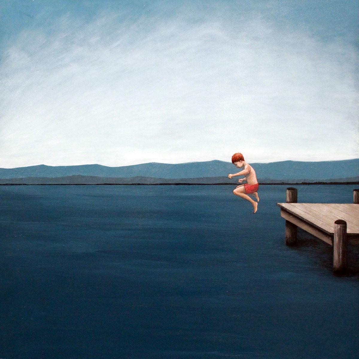 Dock Jumper by Samuel Walker