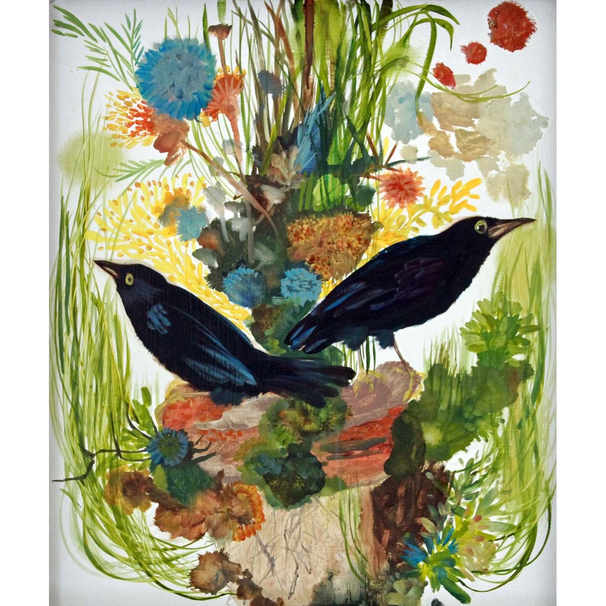 Crow Icon by Diane Kilgore Condon